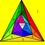 Шлегел icosaedre