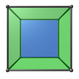 dodecahedron hide sides tesseract
