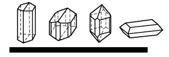 Моноклинна сингония на кристалите